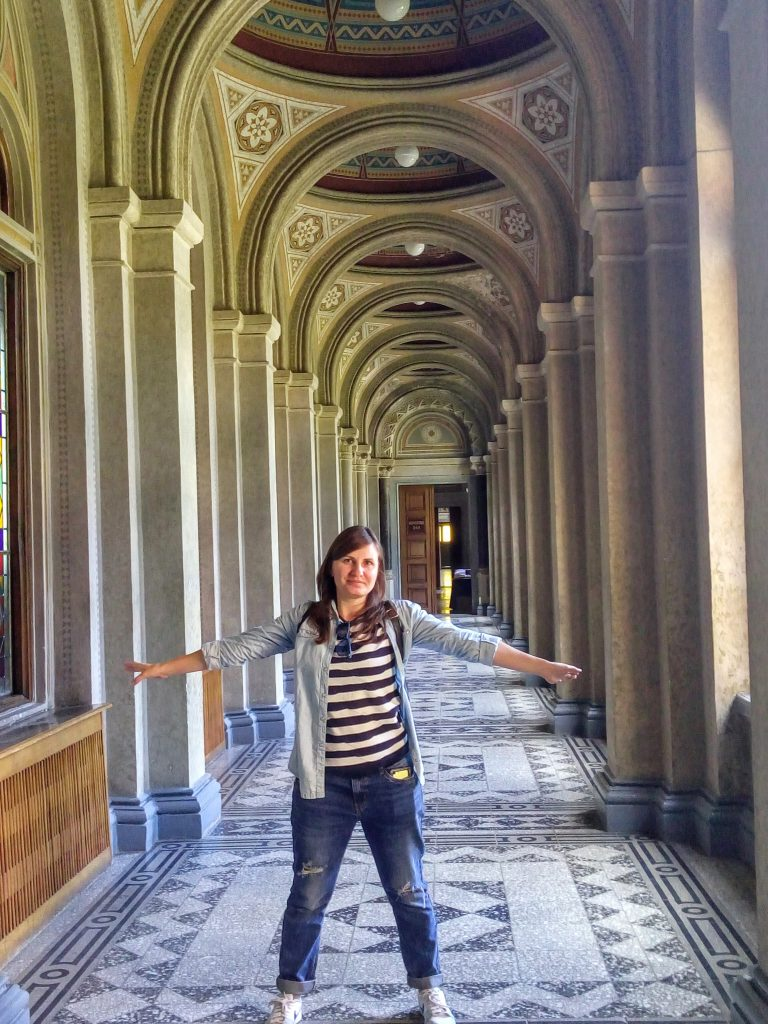 Коридор в університеті