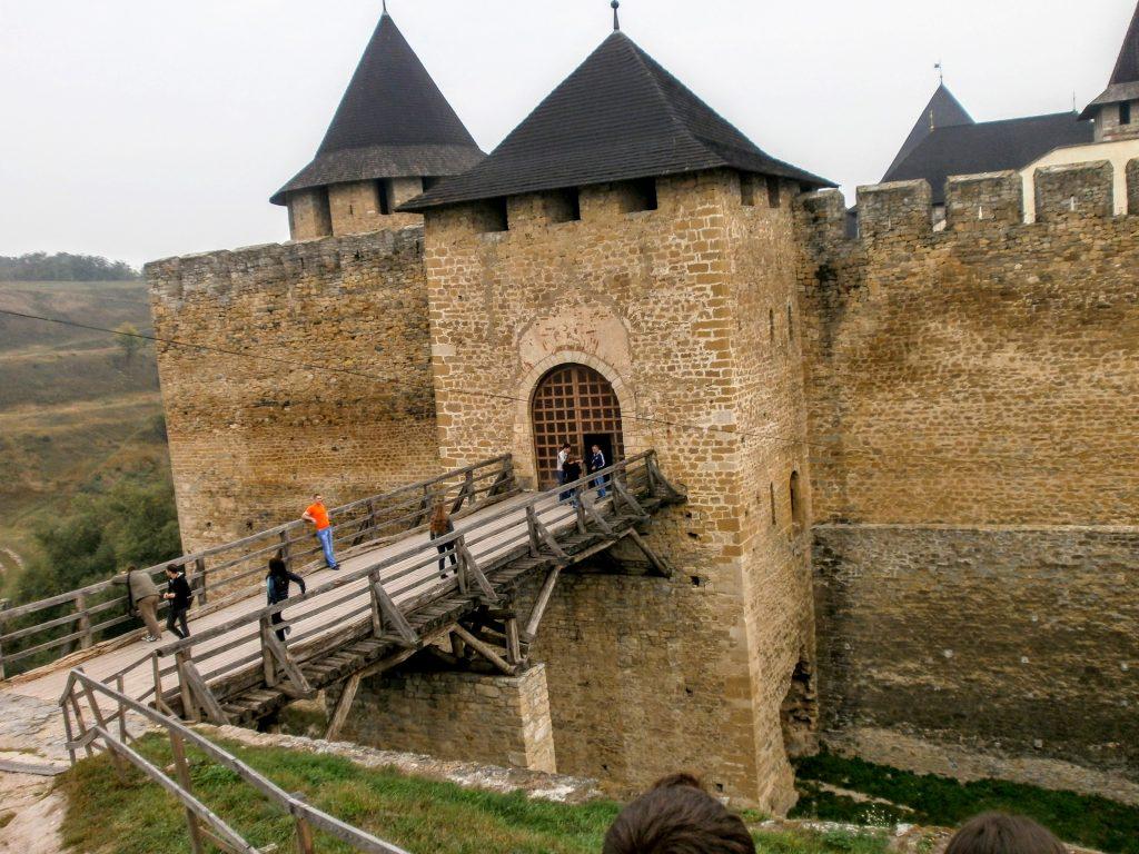 Головні ворота в Хотин