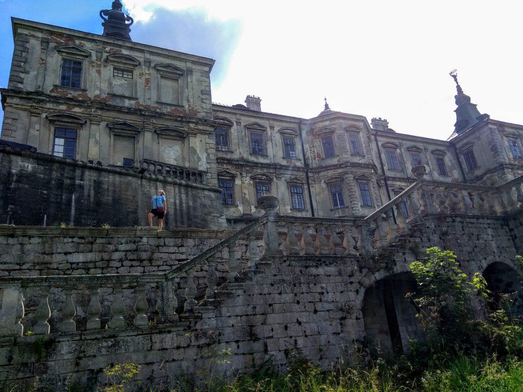Масштаби замку у Підгірцях