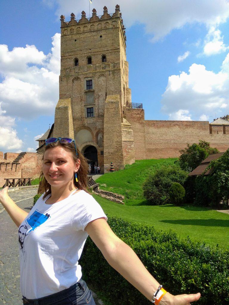 Біля Луцького замку